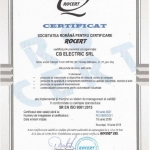 CB Electric obtained the recertification of the Quality Management System according to SR EN ISO 9001: 2015